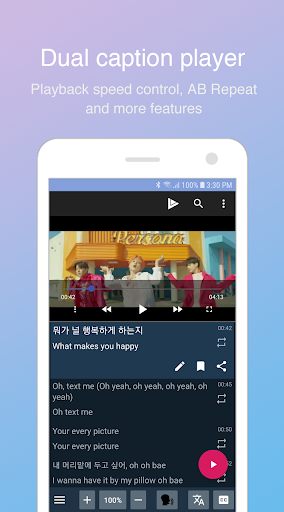 LingoTube - Language learning with streaming video 1.5.2 screenshots 1