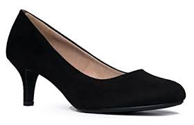 Image result for closed toe black dress heels