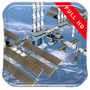 Space Station Live Wallpaper