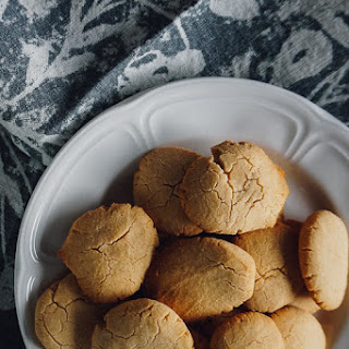 Three-Ingredient Coconut Flour Cookies.