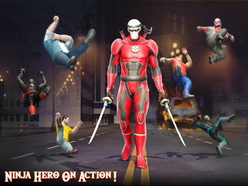 Ninja Superhero Fighting Games: City Kung Fu Fight 5.9 screenshots 10