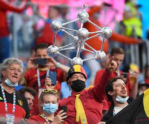 📷 Les plus belles photos des supporters des Diables dans la Gazprom Arena