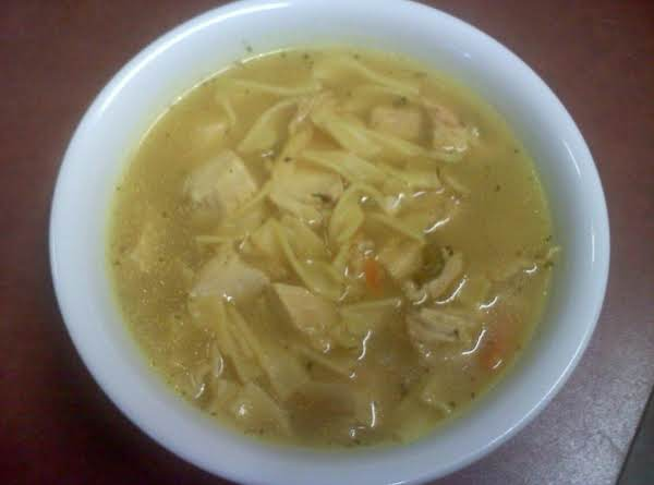 Lisa's Chicken Noodle Soup Recipe