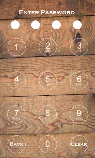 Wood Passcode Lock