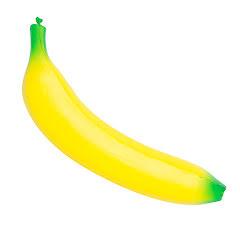 Squeeze ball, banan