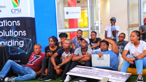 Geeks watching presentations at 2019's Gk Annual Hack. (Photo supplied by Geekulcha)
