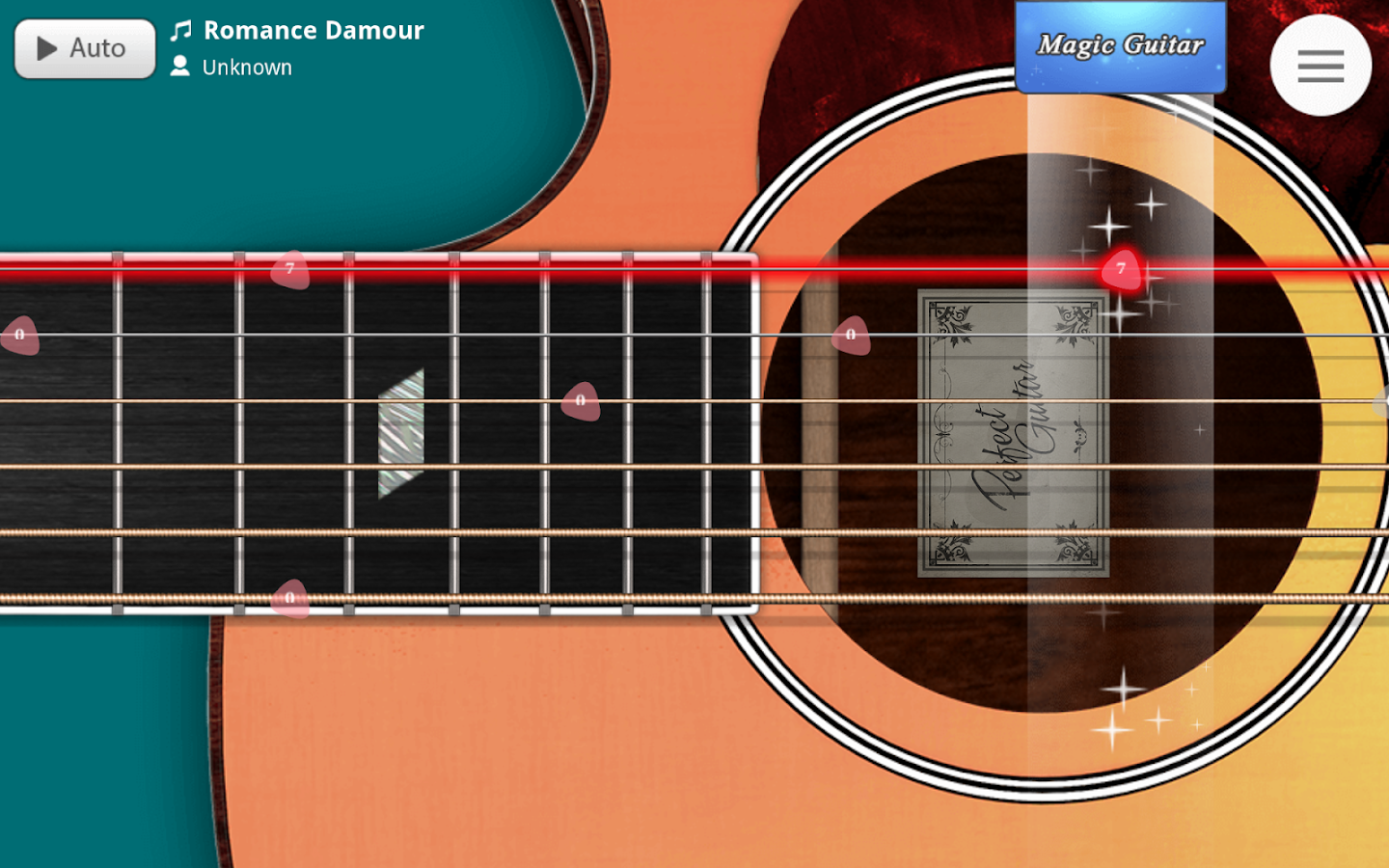 Guitar +- screenshot