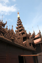 Photo: Year 2 Day 55 -  The Roof of Shwe in Bin Kyaung