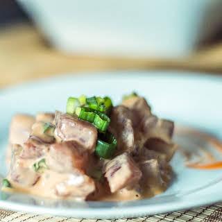 Hawaiian Style Tuna Tartare (Spicy Ahi Poke).