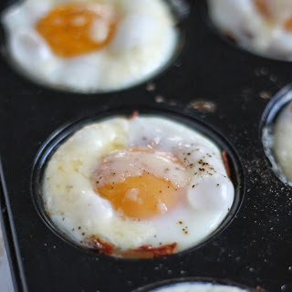 Cheesy Egg and Hash Brown Cups.