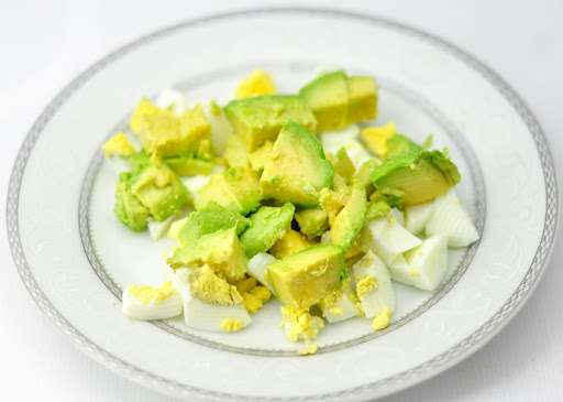 Avocado Boiled Egg Salad
