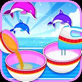 Tải Game Delicious Art Dolphin Cake