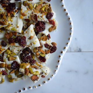 Cranberry & Pistachio Bark