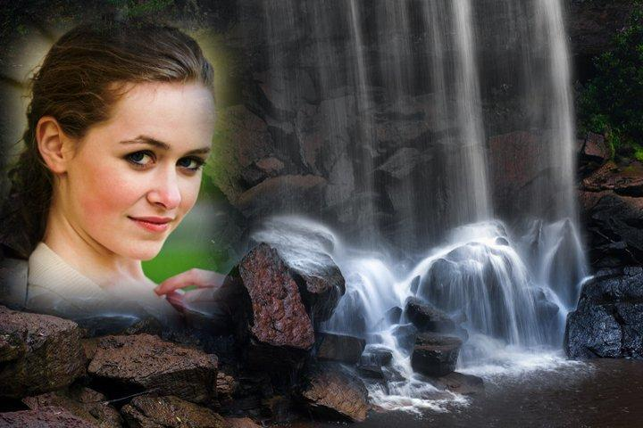 New Waterfall Photo Frames- screenshot