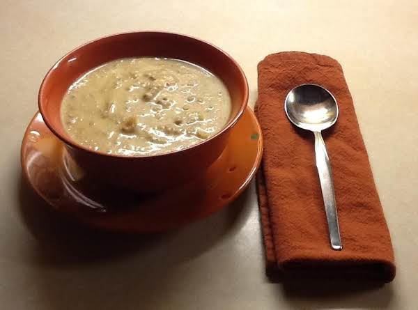A Hearty Soup That Will Stick To Your Ribs.  Even If You Don't Like Cauliflower You Will Like This Soup.