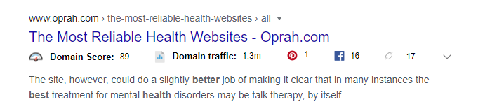 best seo title example