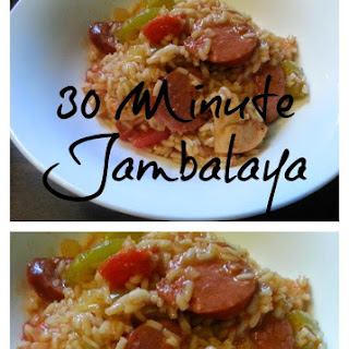 THIRTY MINUTE JAMBALAYA Recipe