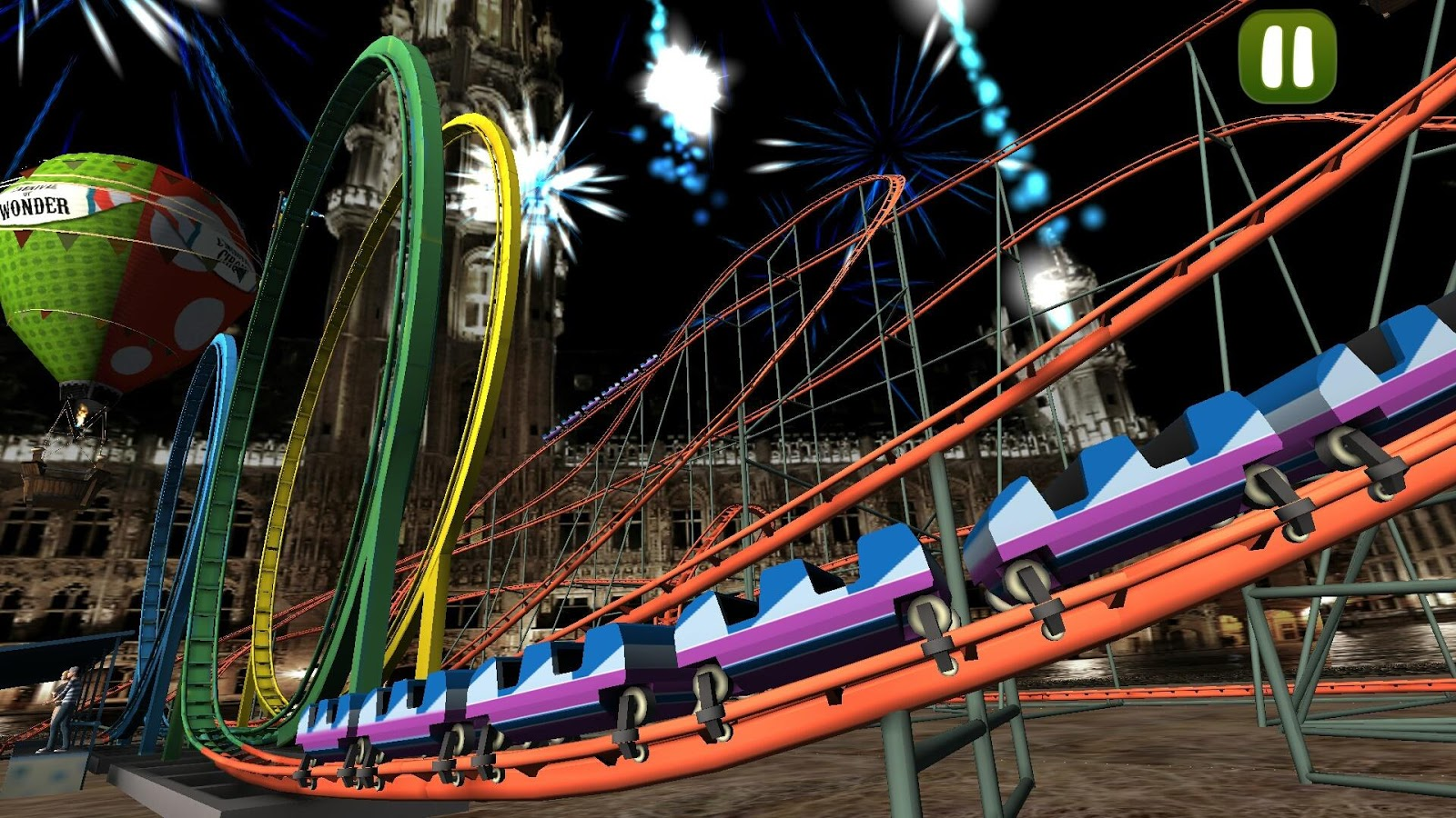 VR Crazy Rollercoaster- screenshot