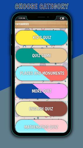Kids Quiz - Free Educational Game (offline) screenshot 1