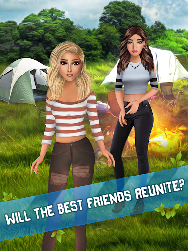 Summer Camp Vibes - Teenage Romance Story apkmr screenshots 16