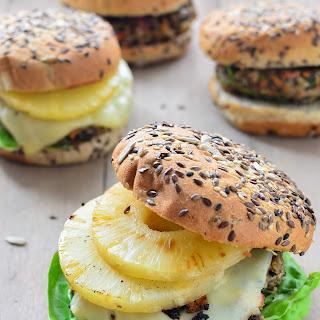 Hawaiian Veggie Burgers.