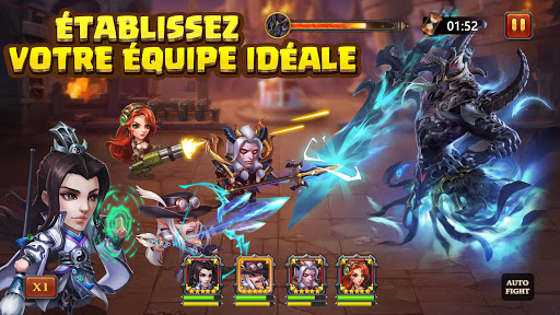 Code Triche Heroes Charge APK MOD screenshots 5