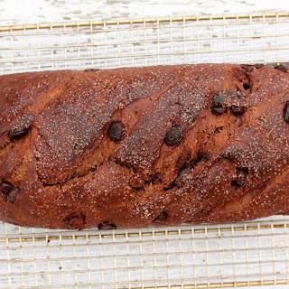 No Knead Chocolate Bread Dough for Chocolate Chip Bread & Chocolate Prune Bread