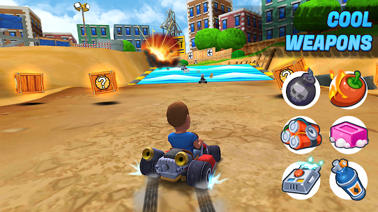 Boom Karts – Multiplayer Kart Racing Apk  Download For Android 2
