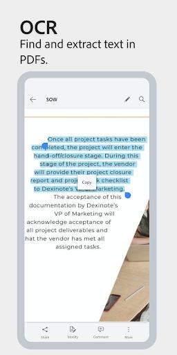 Adobe Scan: PDF Scanner with OCR, PDF Creator 20.09.02-regular screenshots 5
