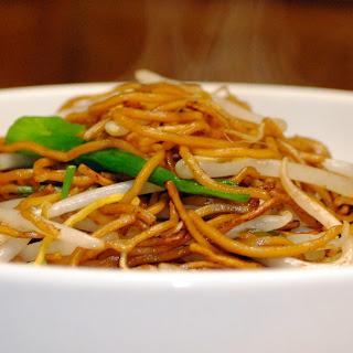 Pan-Fried Noodle Dim Sum Style