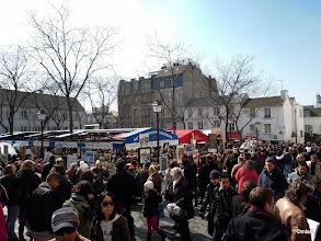 Photo: Montmartre, malíři, restaurace a spousta turistů