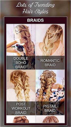 Best Hairstyles step by step DIY 1.0 screenshots 10
