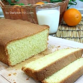 Gluten-Free Orange Butter Cake