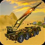 Missile Launcher Simulator Truck Icon