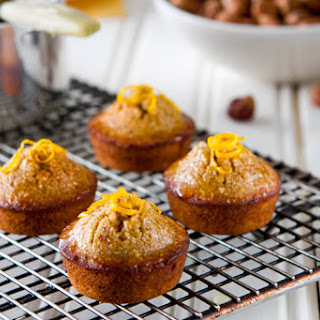 Orange Hazelnut Mini Cakes.