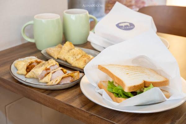 台北北門 富士山的豬 早午餐|手打豬肉三明治、麥香蛋餅香Q好吃