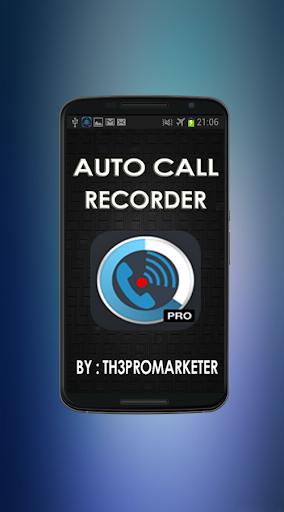 Auto Call Recording