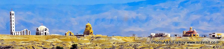 Каср-эль-Яхуд. Крещение Господне в реке Иордан. Экскурсия в Израиле.
