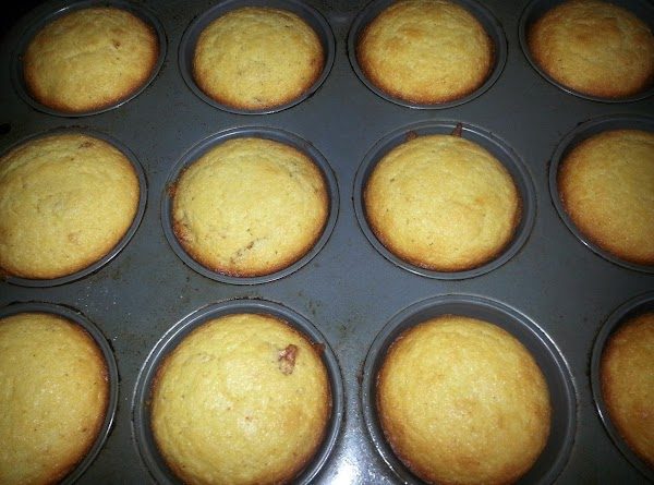 Bake in preheated oven for 20-25 minutes, or until toothpick inserted comes out clean.Serve...
