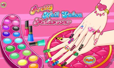 Pretty nail salon makeover 1.0.0 screenshot 420771