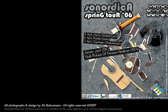 Photo: sonordicA, nordic-french music exchanges, concert poster,  in Copenhagen, Denmark (2006) © photography & design by jean-marie babonneau www.betterworldinc.org