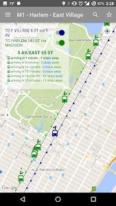 NYC Bus Map - Live screenshot 0