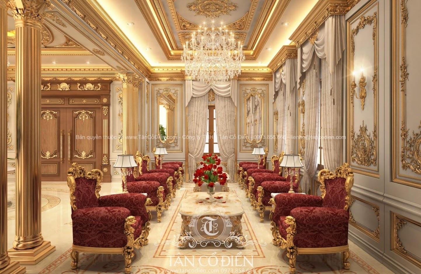 Phong cách quy phái của biệt thự cổ điển