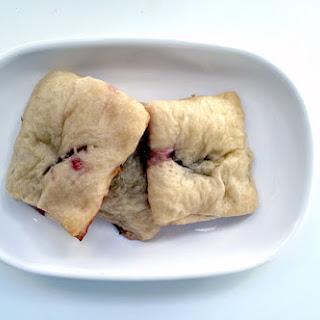 Brie & Raspberry Crescent Roll Bites.