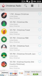 screenshot image - Country Christmas Radio