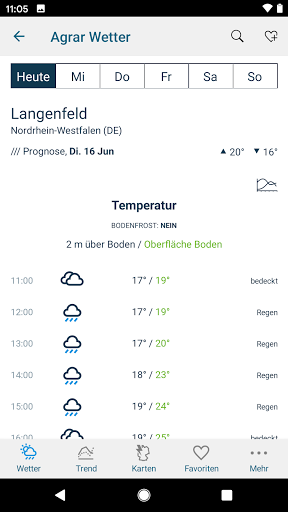 Bayer Agrar Wetter  screenshots 2