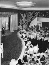 Photo: Boate Chão de Estrelas. Marta Rocha foi coroada Miss Brasil em 1954 neste salão. Fica no interior do Palácio Quitandinha. Foto de 1947