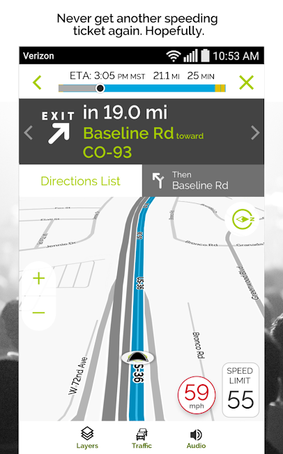 #3. MapQuest GPS Navigation & Maps (Android)