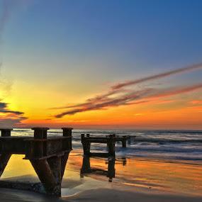 Sunset by Zulhazman Ha - Landscapes Weather ( sunset )