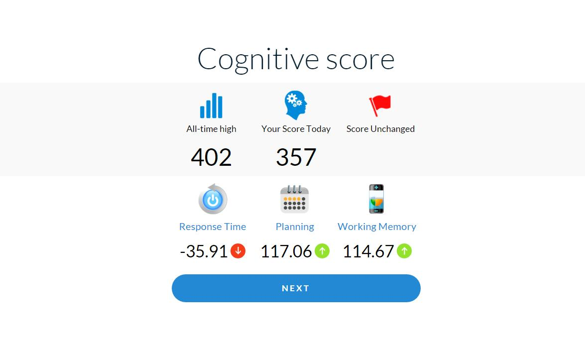CogniFit Brain Fitness- screenshot